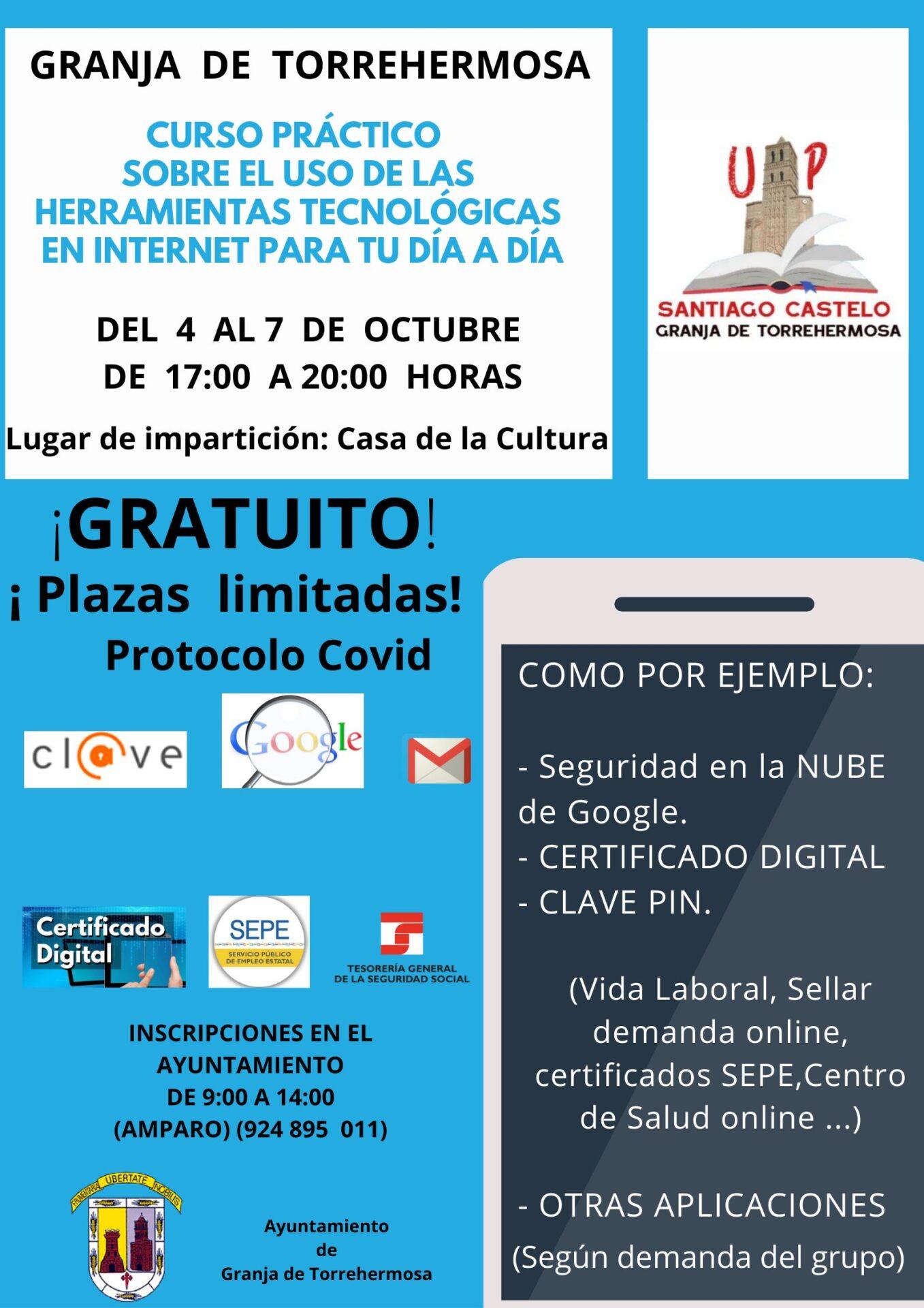 Curso Práctico sobre el uso de las Herramientas tecnológicas en internet